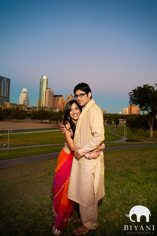 Long Center Austin Indian Engagement Photographer