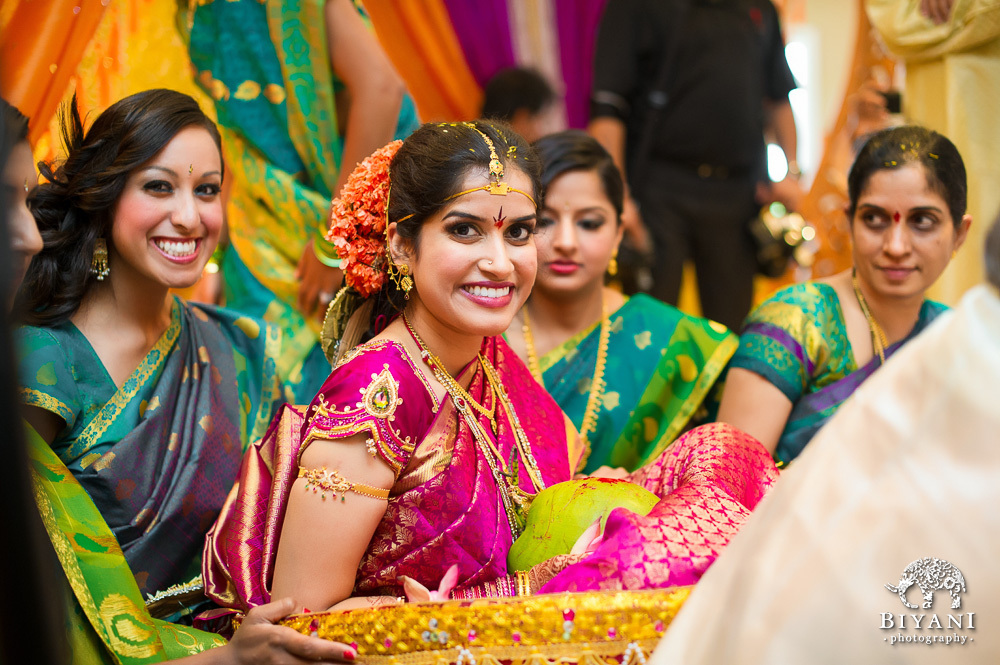 telugu wedding ceremony Being a telugu indian wedding, the day was organized around eight traditions you can follow along with below we began early in the morning with the couple getting ready in their separate houses, followed by their individual prayer ceremonies- ganesh and gowri puja.
