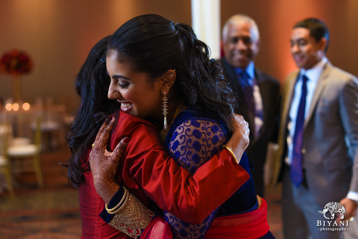 Stafford Center Indian American Fusion Wedding Reception Houston TX