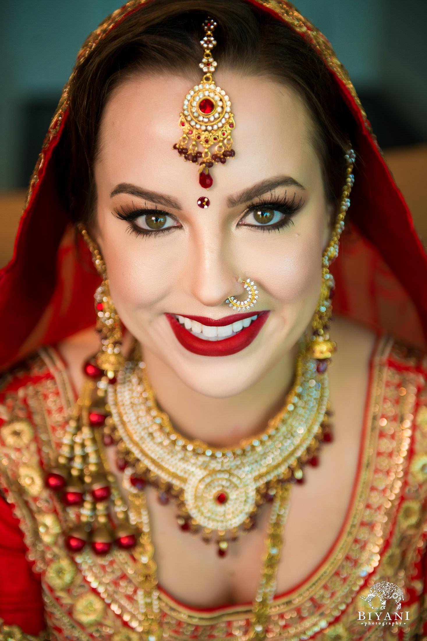 bride solo portrait