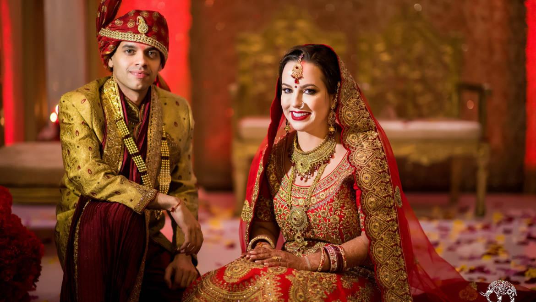 Fusion Indian American Wedding – Westin Memorial City, Houston TX
