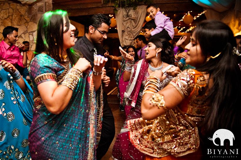 indian wedding dance photo