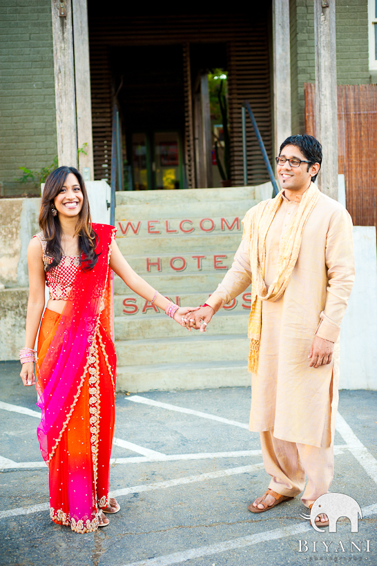 South Congress Austin Indian Engagement Photographer