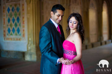 Divya & Praveen – Indian Engagement Photography, New York