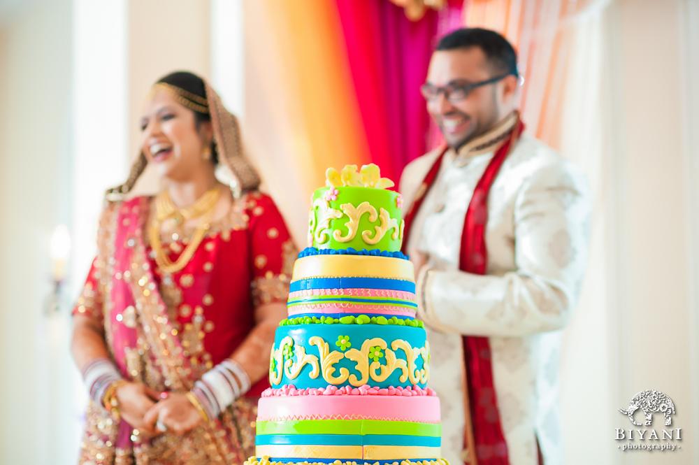 Cuero Wedding Cake Cutting