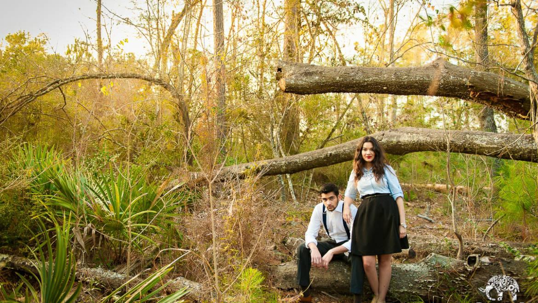 East End Park & City Center Engagement Photos – Kingwood, TX