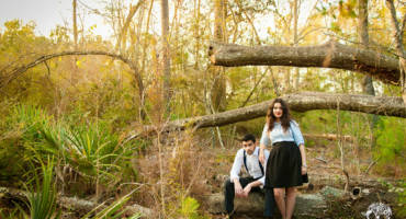 East End Park & City Center Engagement Photos – Kingwood, TX