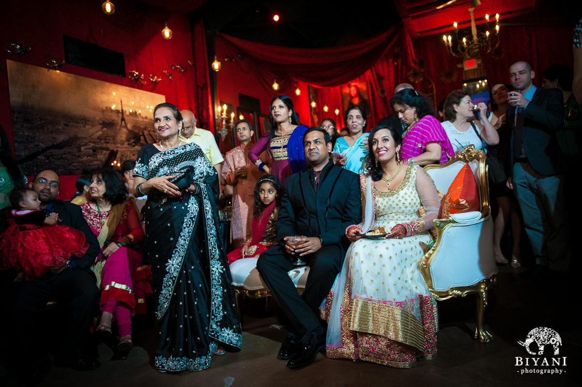 Cosmopolitan Parisian Themed Sangeet At Hughes Hangar