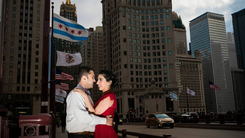 Chicago Engagement Photos – Geetika & Jay