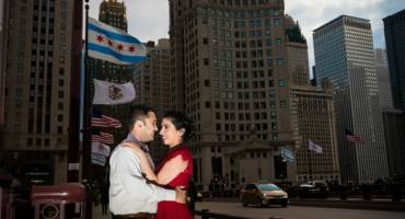 Chicago Engagement Photos – Geetika & Jay