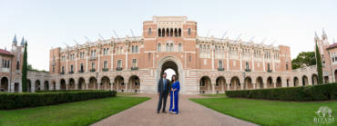 Rice University Engagement Photos – Divya & Sharu – Houston, TX