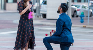 'Tis the season to be Engaged – Houston Proposal Photos