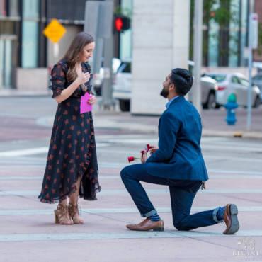 'Tis the season to be Engaged – Houston Proposal Photos