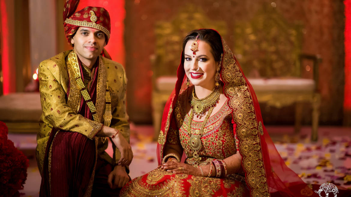 Fusion Indian American Wedding – Westin Memorial City, Houston TX
