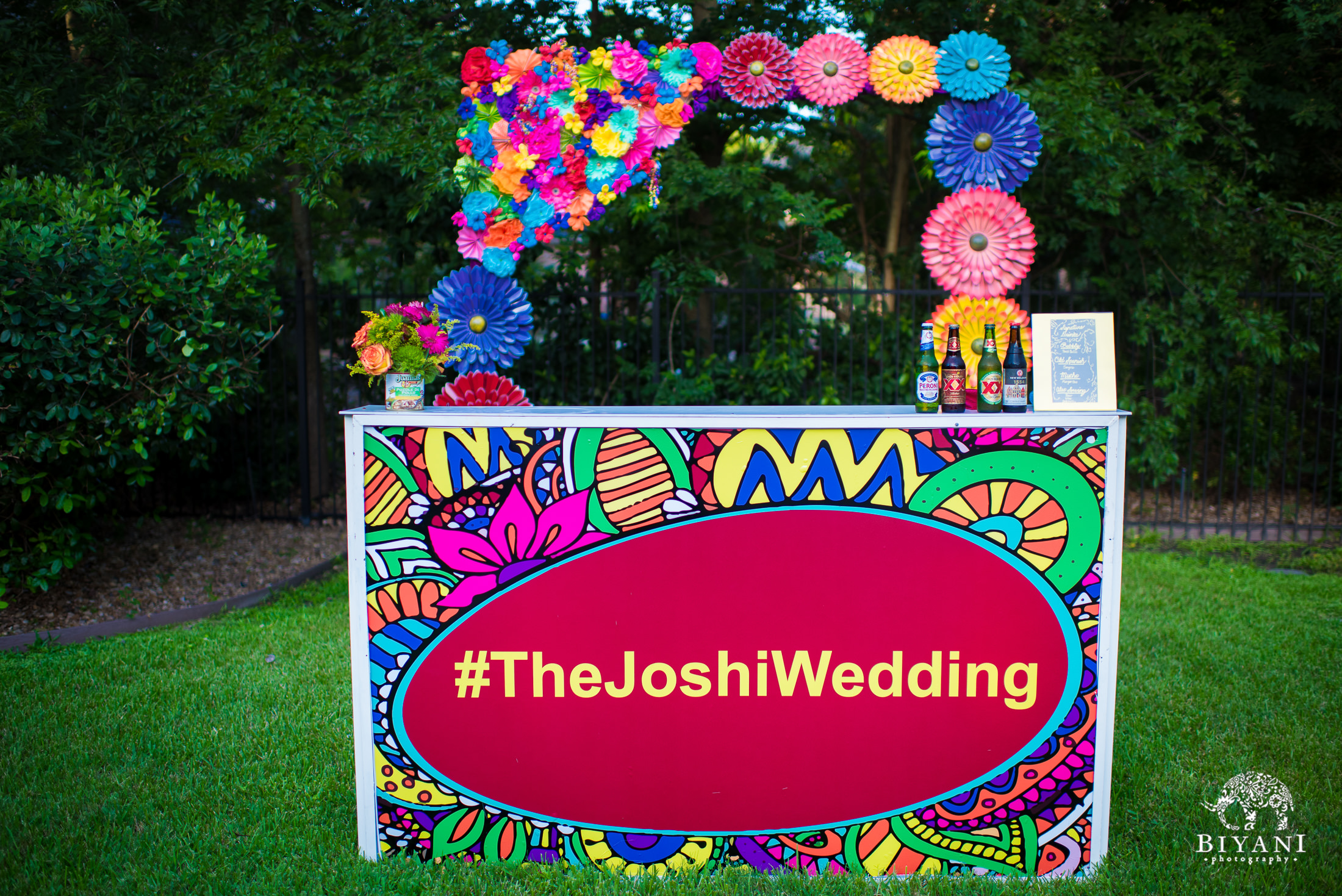 #thejoshiwedding backyard decor