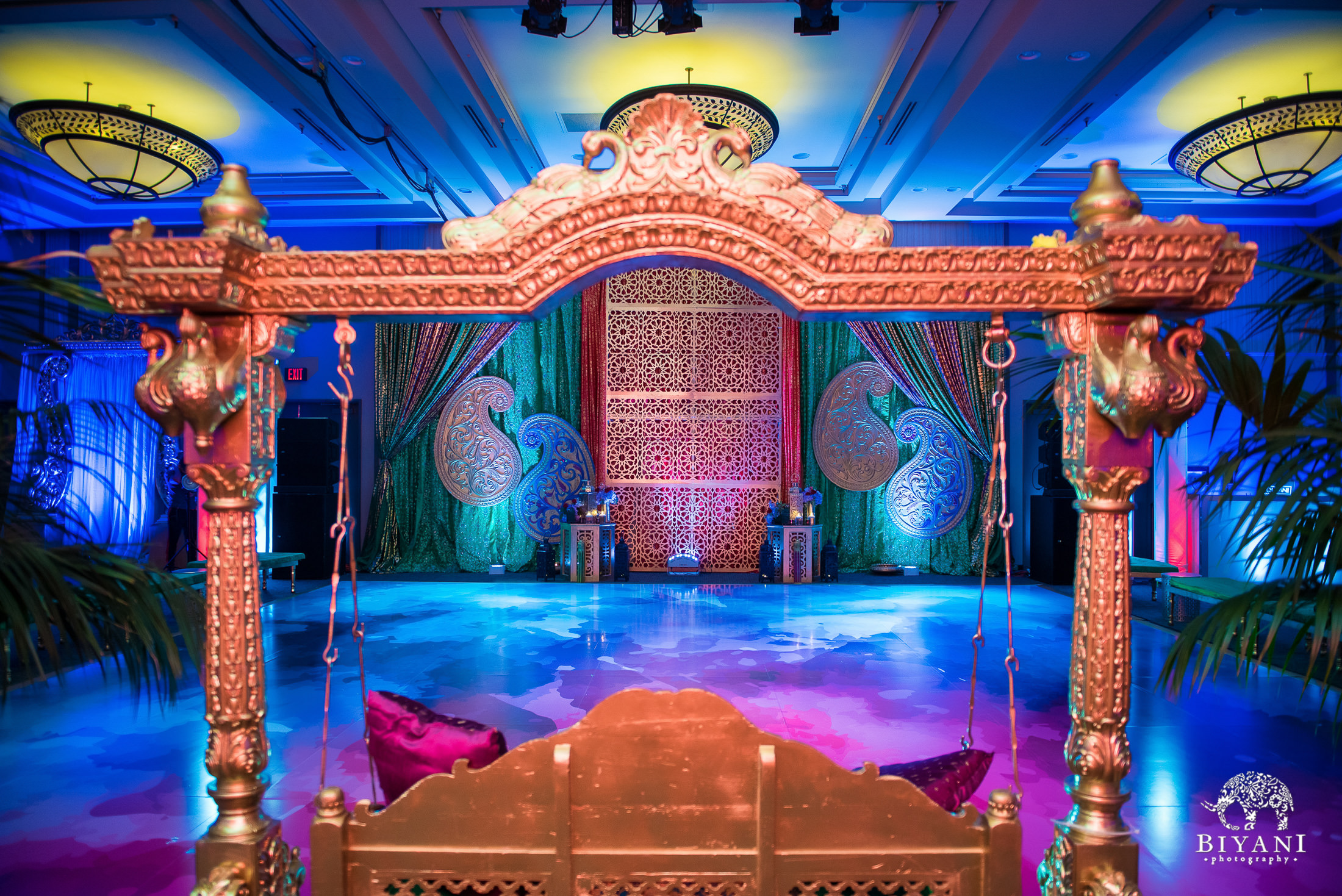 Houston Punjabi Sangeet Decor
