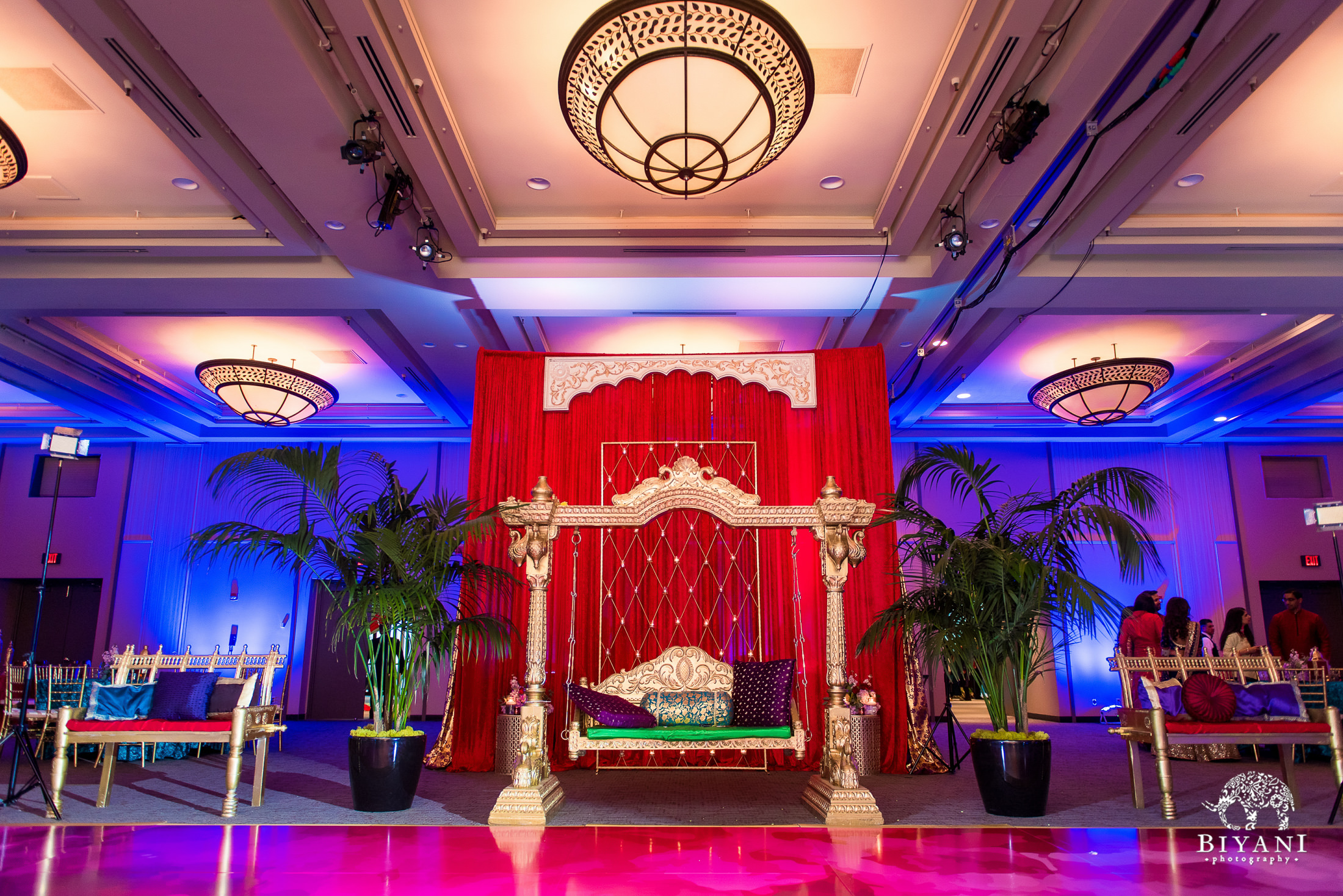 Punjabi wedding decor