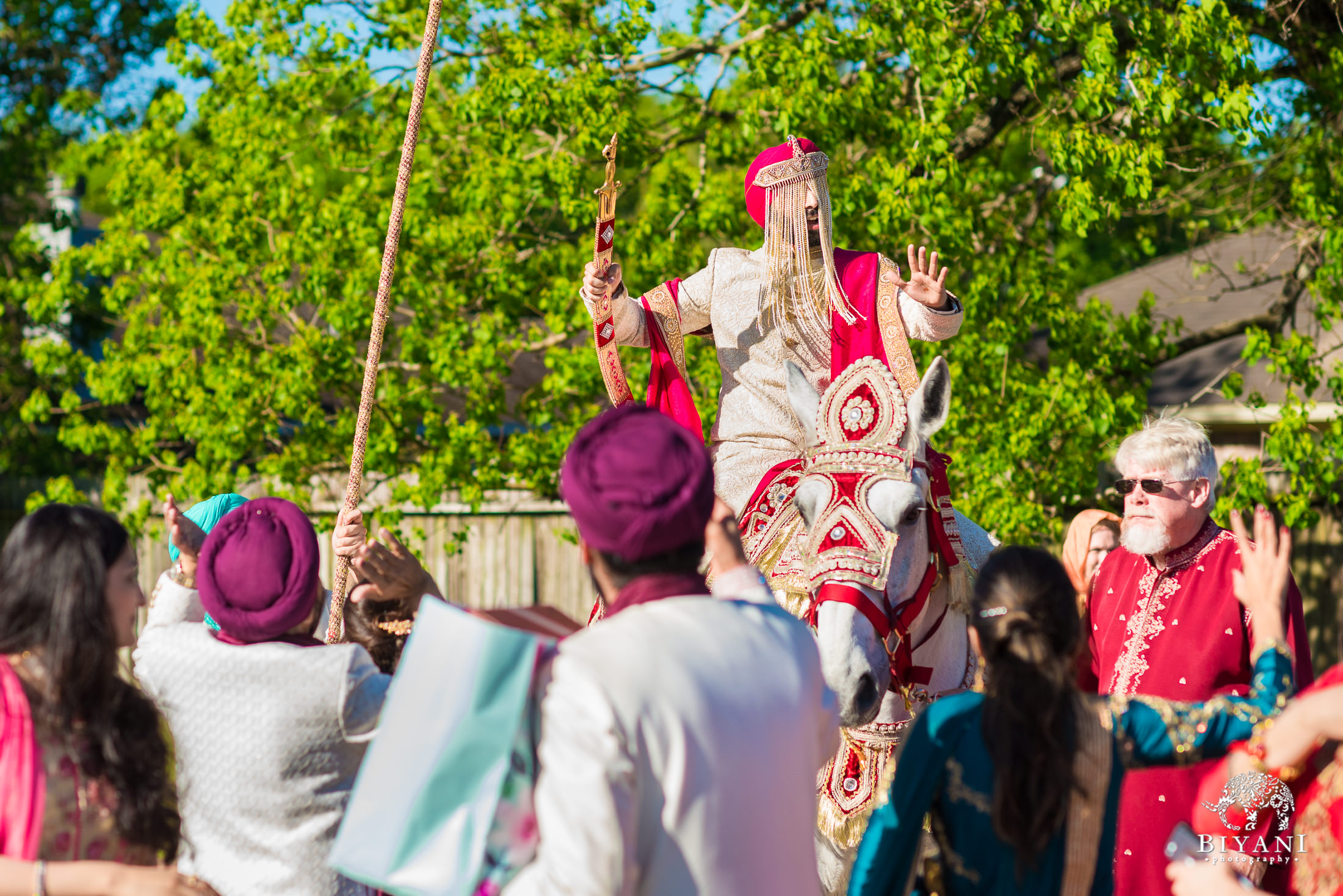 Punjabi Wedding Ceremony Baraat