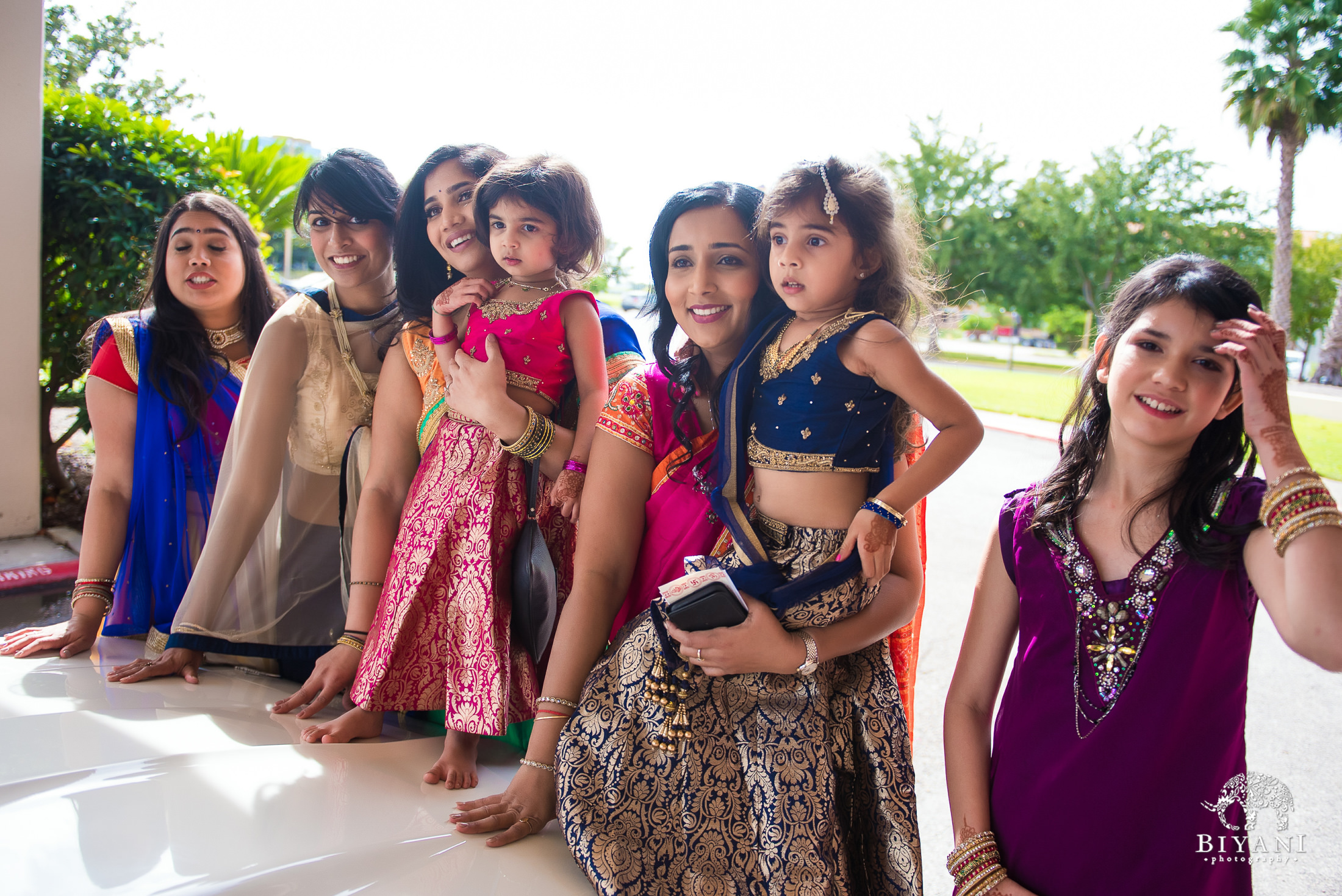 Gujarati Bride and Groom party
