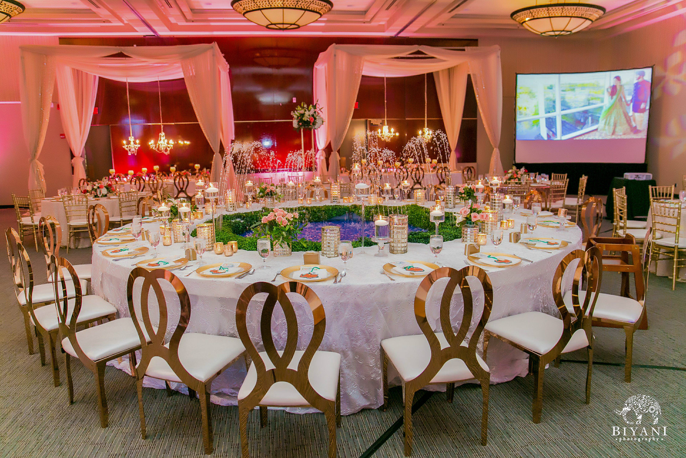 Houston Punjabi Wedding Reception Decor