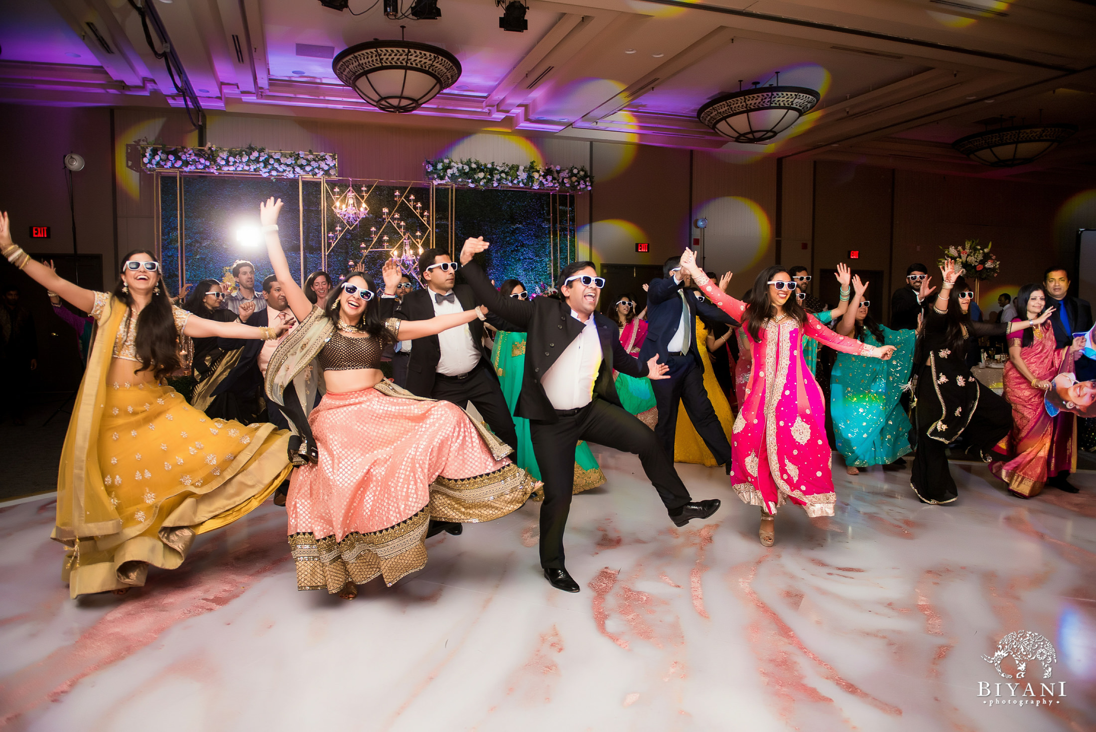 Houston Punjabi Wedding Reception Dance