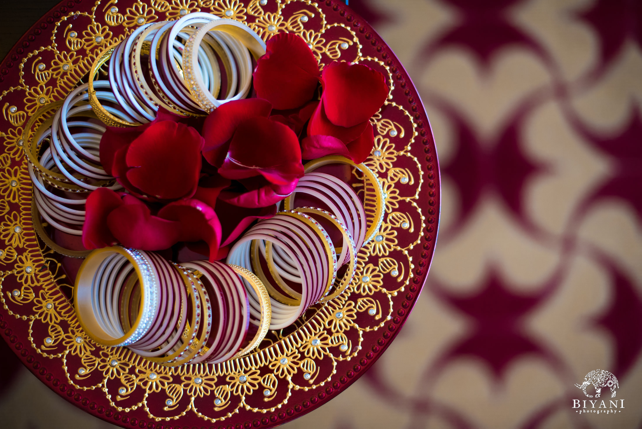 Indian Wedding bangles for the bride