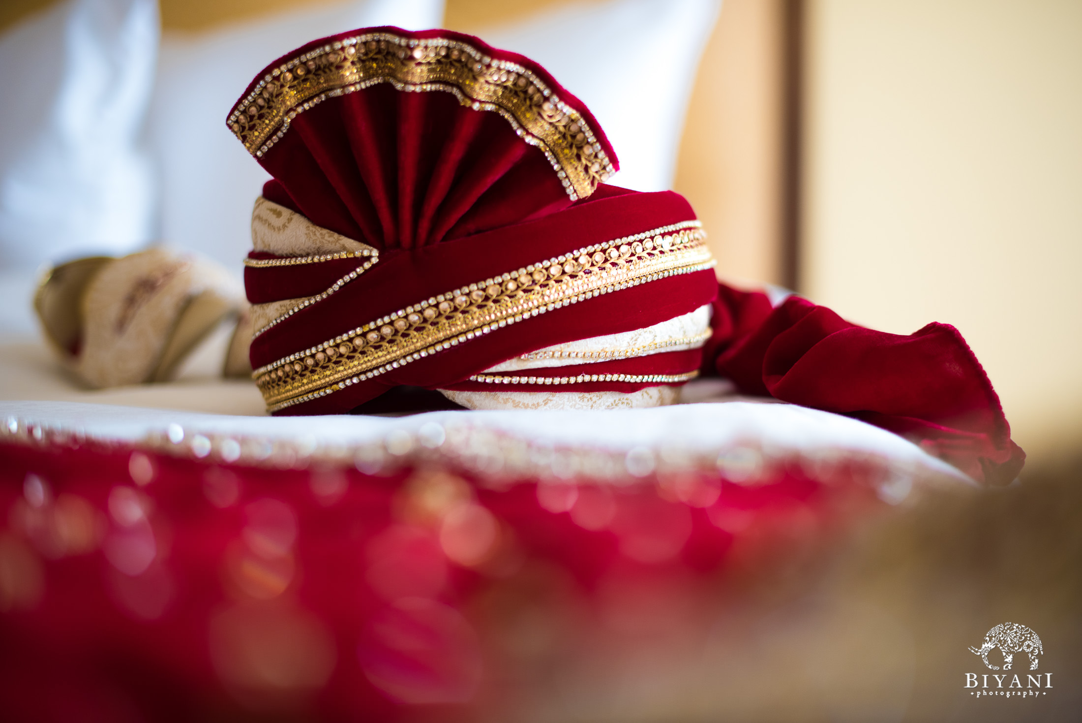 Groom's outfit at Indian Fusion wedding in San Antonio, Tx.