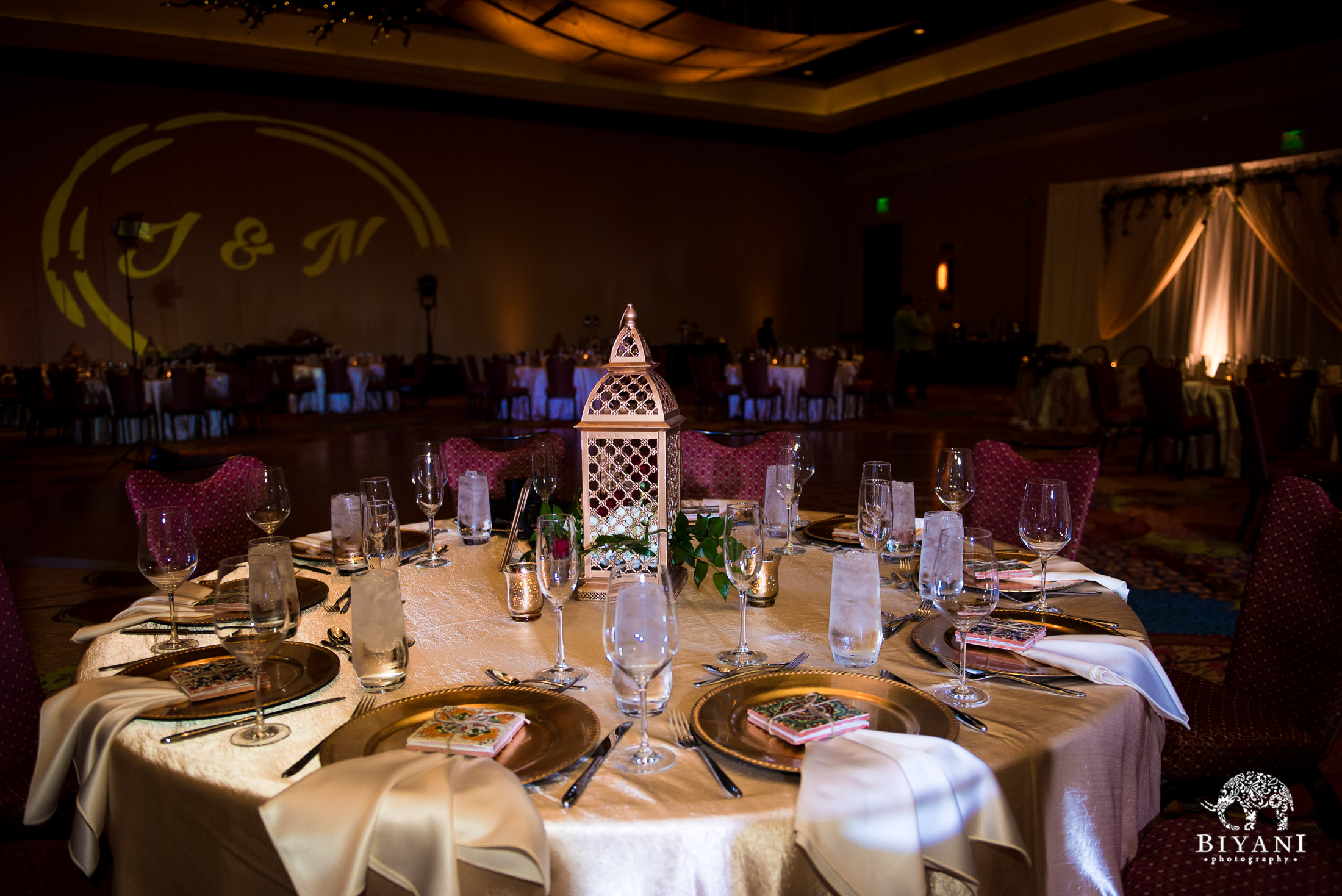 Indian Fusion Wedding details and decor