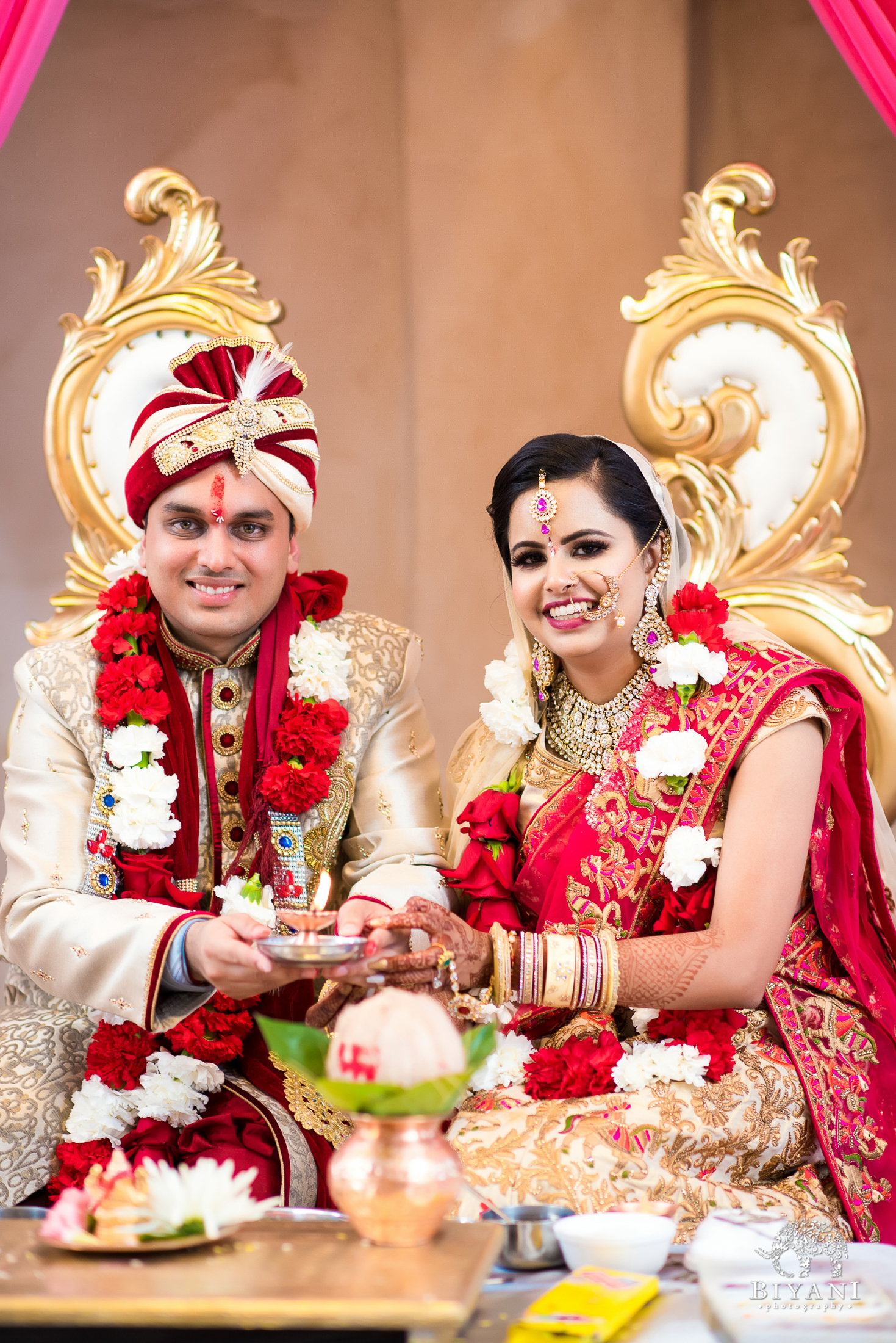 Indian Wedding Ceremony.