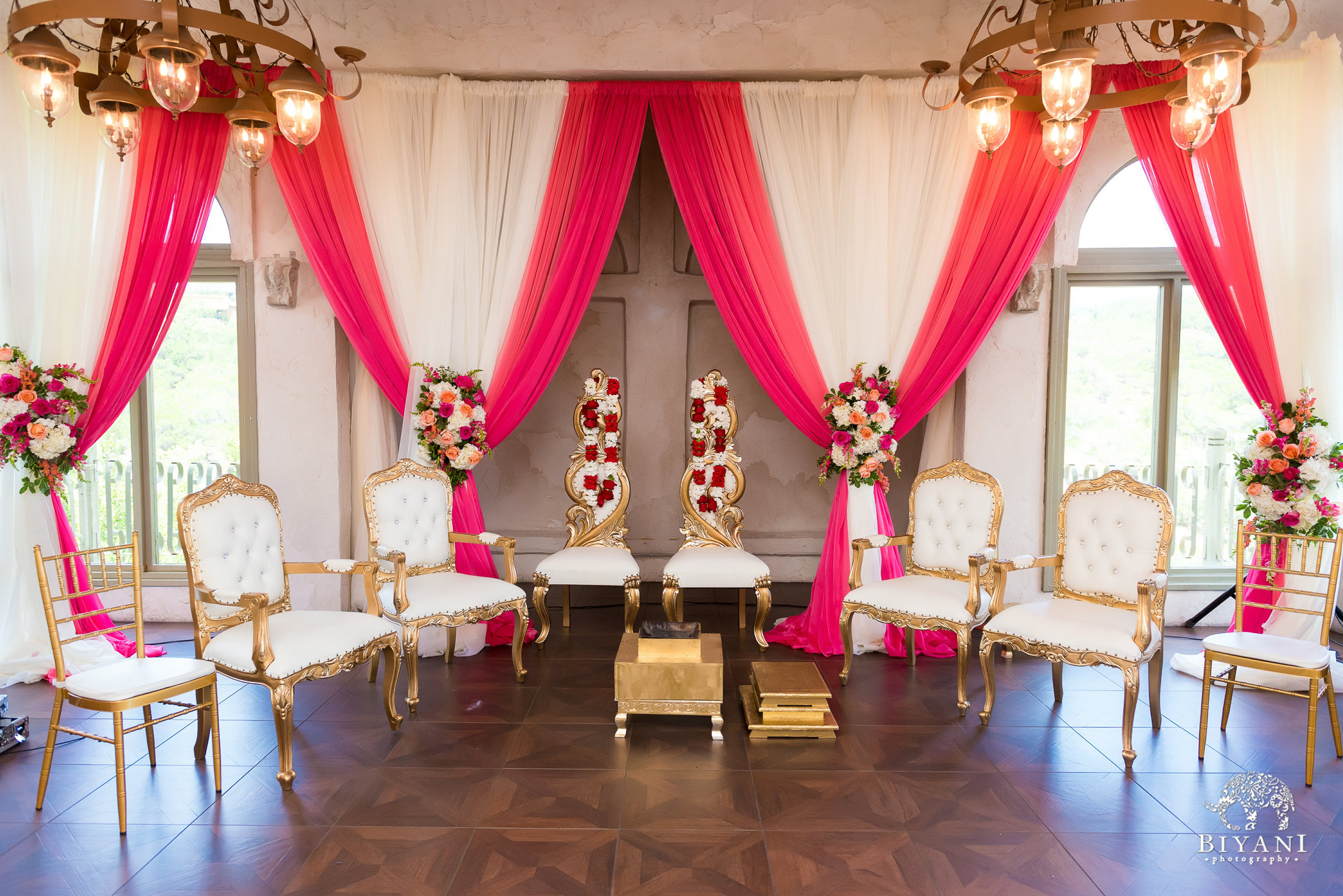Indian wedding venue decor