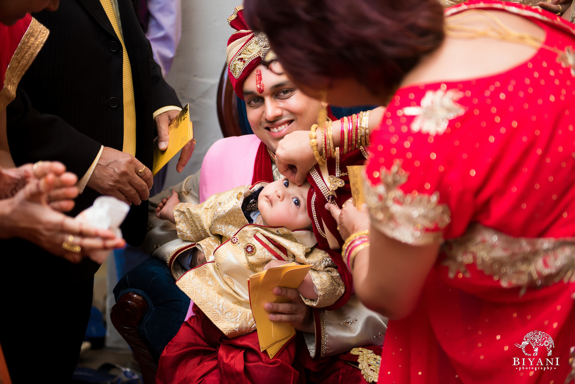 Indian groom ceremonies