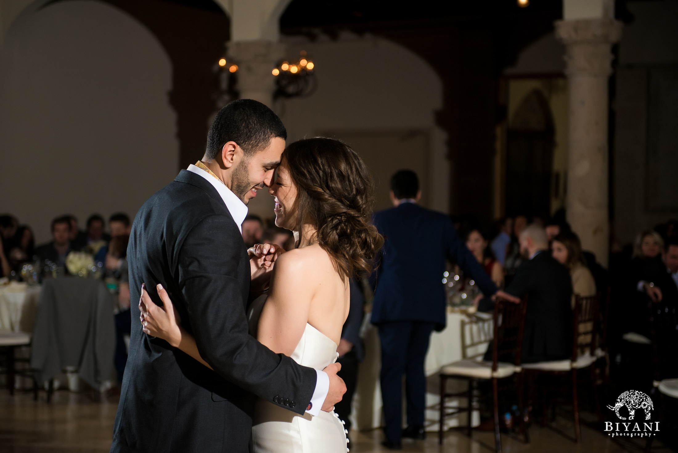 Houston Fusion Egyptian Wedding Reception Bride and Groom First Dance