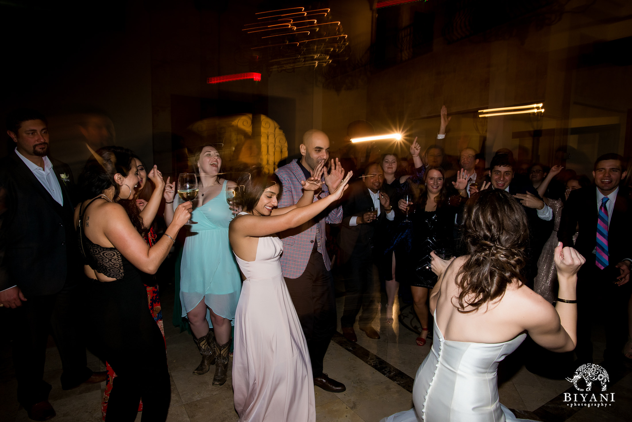 Houston Fusion Egyptian Wedding Reception Dance Party