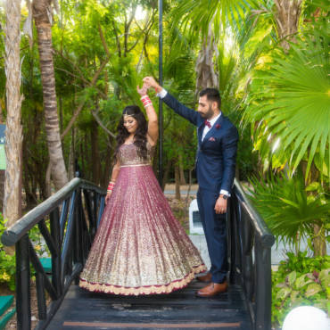 Cancun El Dorado Destination Indian Wedding Photos